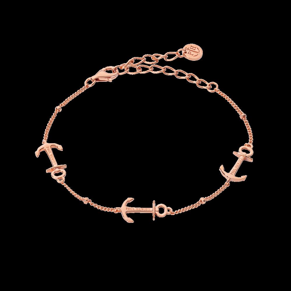 Bracelet Anchor Rosegold