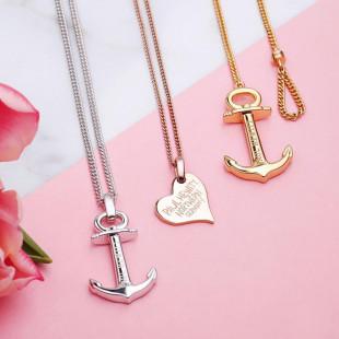 Necklace Anchor Spirit Gold