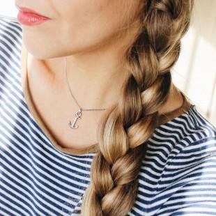 Necklace Anchor Spirit Silver