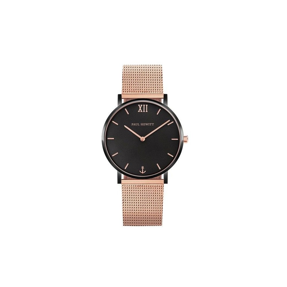 Sailor line Black Sunray/Rose Gold Mesh