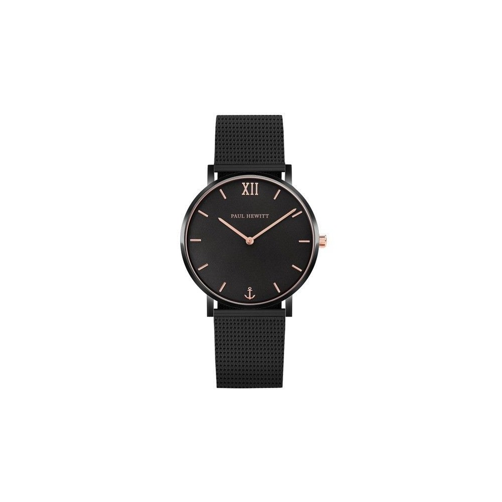 Sailor line Black Sunray/Rose Gold Mesh Black