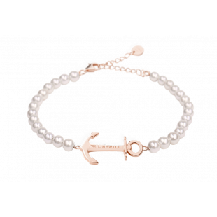 Bracelet Anchor Spirit Pearl Rose Gold