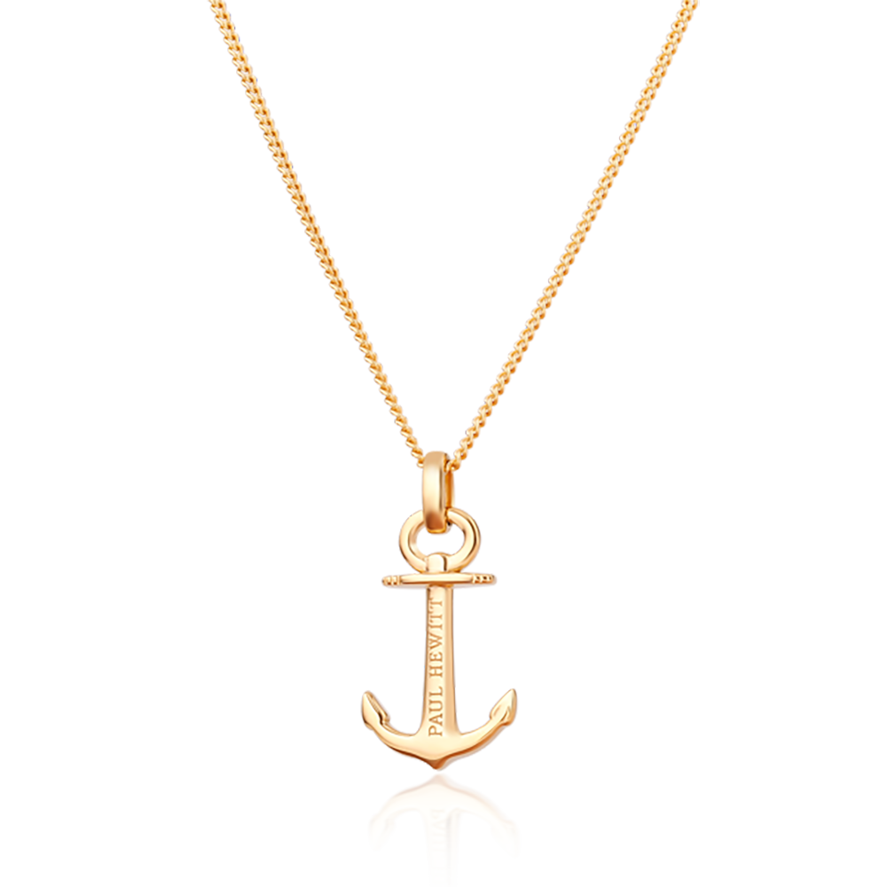 Necklace Anchor Spirit Gold
