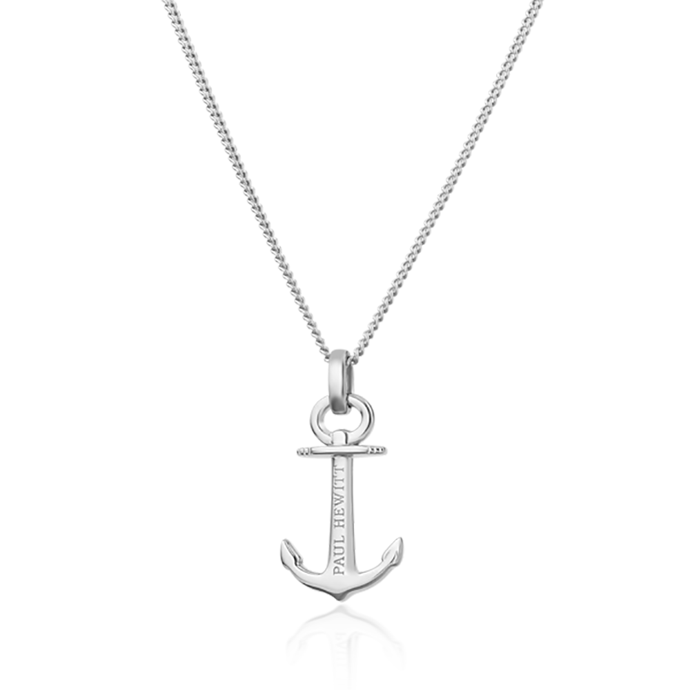 Necklace Anchor Spirit Silver