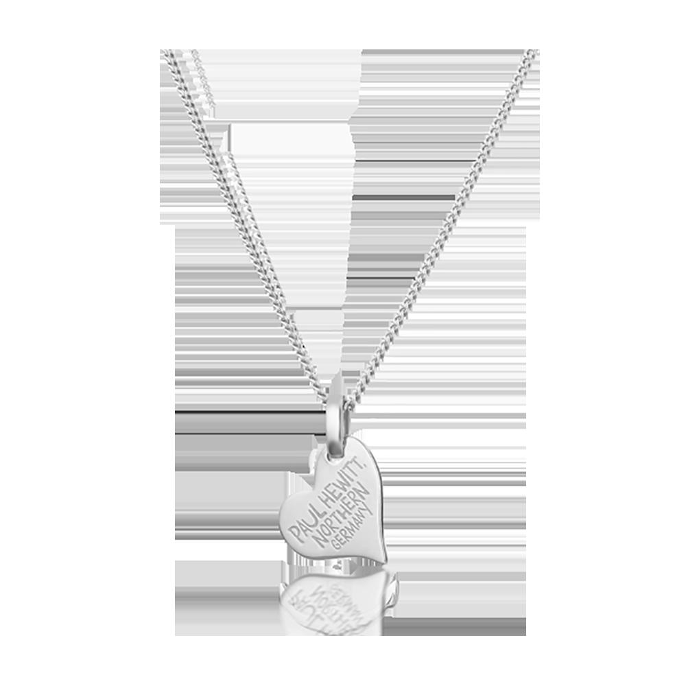 Necklace North Love Silver