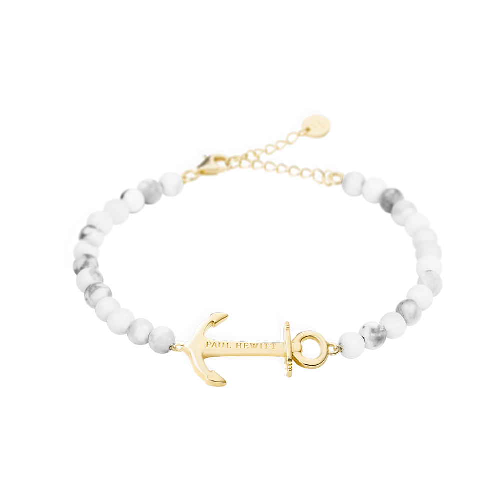 Bracelet Anchor Spirit Marble Gold