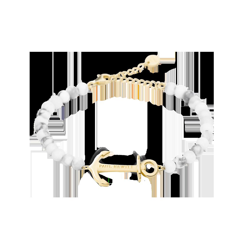 Bracelet Anchor Spirit Marble Gold