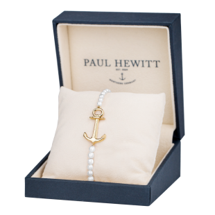 Bracelet Anchor Spirit Pearl Gold