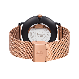 Sailor line Black Sunray/Rose Gold Metal