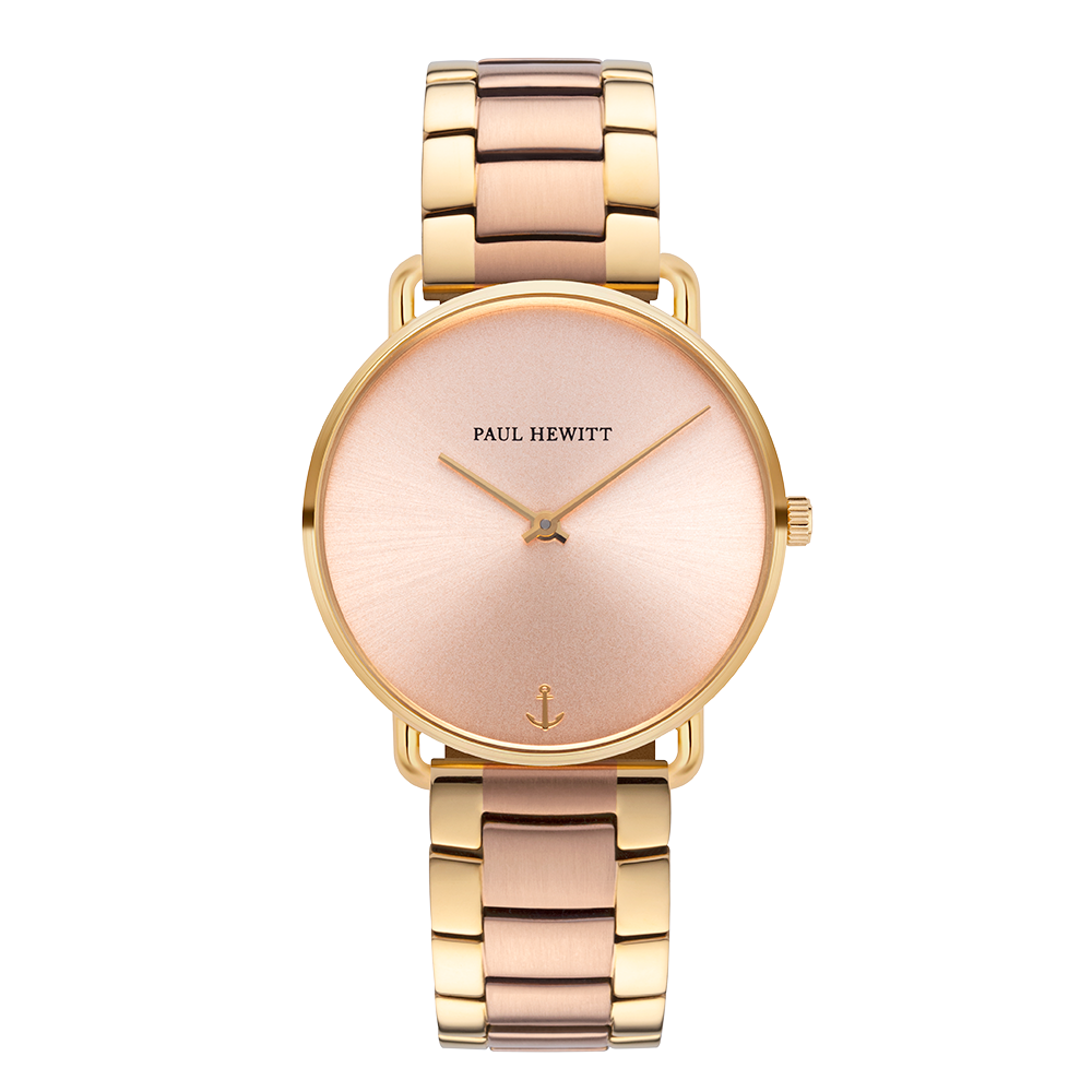 Miss Ocean rose sunray metal bicolor rosegold / gold