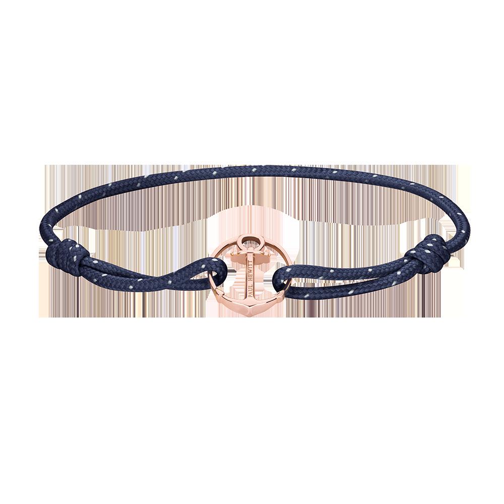 Re/Brace Rose Gold Navy Blue