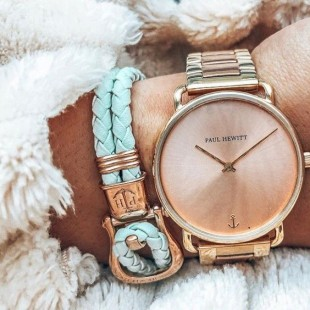 Phinity Rose Gold Leather Mint