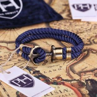 Anchor navy blue